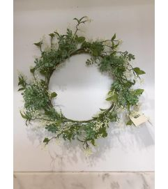 White Berry Wreath