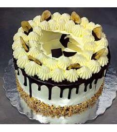 Banana Hazelnut Cake