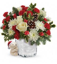 Send a Hug Bear Buddy Bouquet