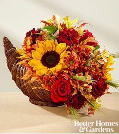 Fall Harvest Cornucopia by FTD