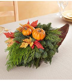Thanksgiving Traditions Cornucopia