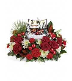 Thomas Kinkade Family Tree Bouquet