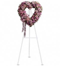 Rose Garden Heart - by Jennifer