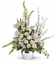 Serene Reflections Bouquet - by Jennifer