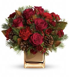 Warm Tidings Bouquet by Teleflora