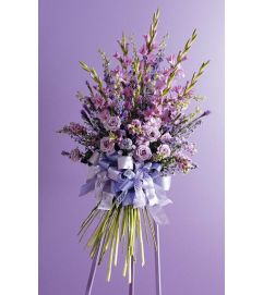 Faux Hand Tied Standing Spray