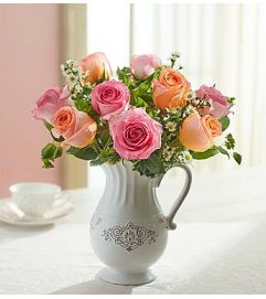 Pitcher Full of Roses