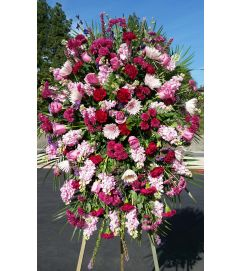 Beautiful Pink floral spray