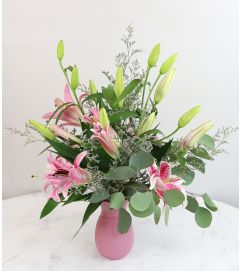 Elegant Pink Lily