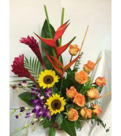 Tropical dream bouquet