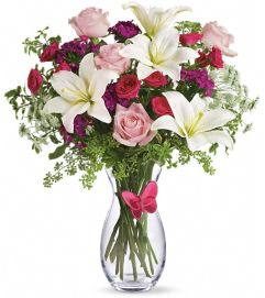 Pink Butterfly Bouquet by Teleflora