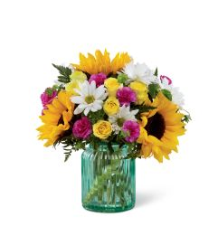 The FTD® Sunlit Meadows™ Bouquet 2015