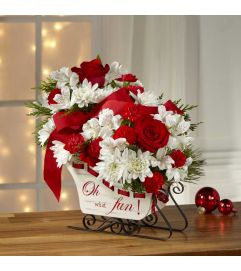 The FTD® Holiday Traditions™ Bouquet 2016