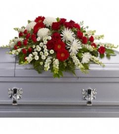 Grace and Blessings Casket Spray