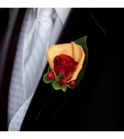 The FTD® Breathless™ Boutonniere