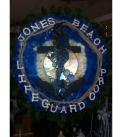 Funeral Custom Lifeguard Sympathy Piece