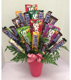 Think Pink Candy Bouquet