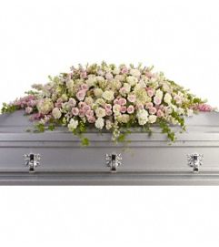 Always Adored Casket Tribute