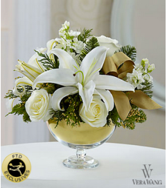 The FTD® Holiday Elegance™ Bouquet 2014
