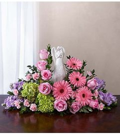 Serenity Angel Arrangement™ Pink and Purple