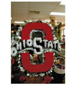 Funeral Custom Ohio State Sympathy Piece