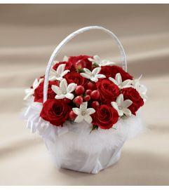 The FTD® Baby Love™ Flower Girl Basket