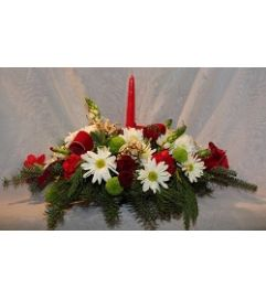 Christmas Traditions Table Centerpiece