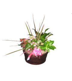 Green Planter Basket