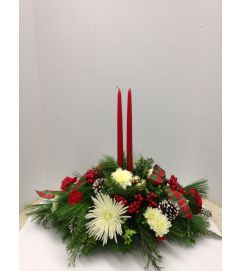 Merritts Classic Double Candle Christmas