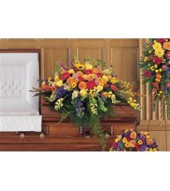 Celebration of Life Casket Cover