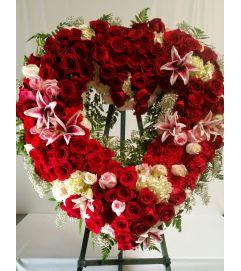 Stunning Red Heart
