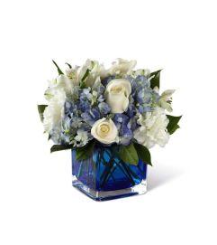 The FTD® Peace & Light™ Hanukkah Bouquet