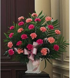 Pink Mixed Basket
