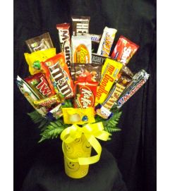 Tall Smiley Sweet Bouquet