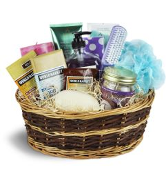 Gift baskets helene fleuriste gatineau qc ottawa on florist indulgence spa basket negle Images