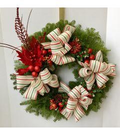Season Greetings Wreath