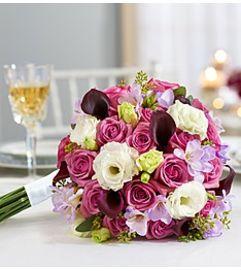 Bouquet Mixed Elegance Purple