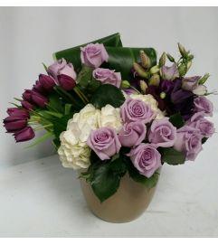 Lavender Petal Roses