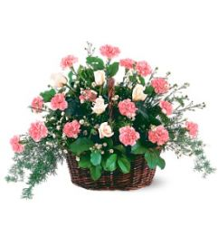 Respectful Pink Mixed Basket