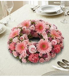 All Pink Centerpiece