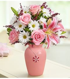 Mother's Embrace™ in a Pink Vase