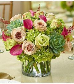 Vineyard Wedding Centerpiece