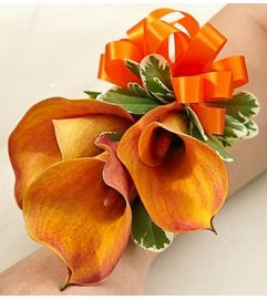 Golden Sunset Corsage