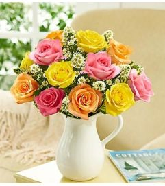 Pitcher Full of Roses, Assorted