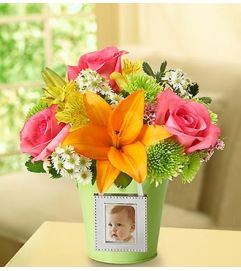 Garden Bouquet™ with Photo Frame