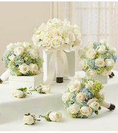 Bridal Party Personal Package Blue and White