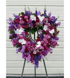 Purple Forever Heart