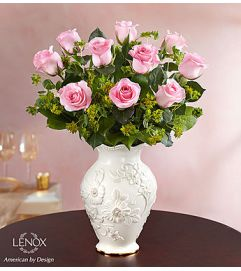 Lovely Roses in Lenox® - Pink