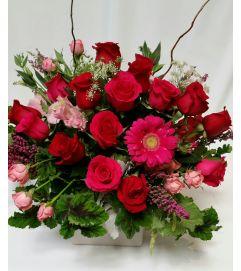 To my Valentine bouquet