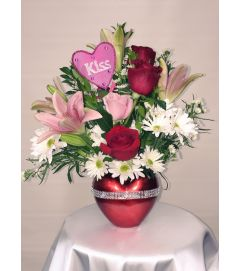 Radiant Heart Bouquet